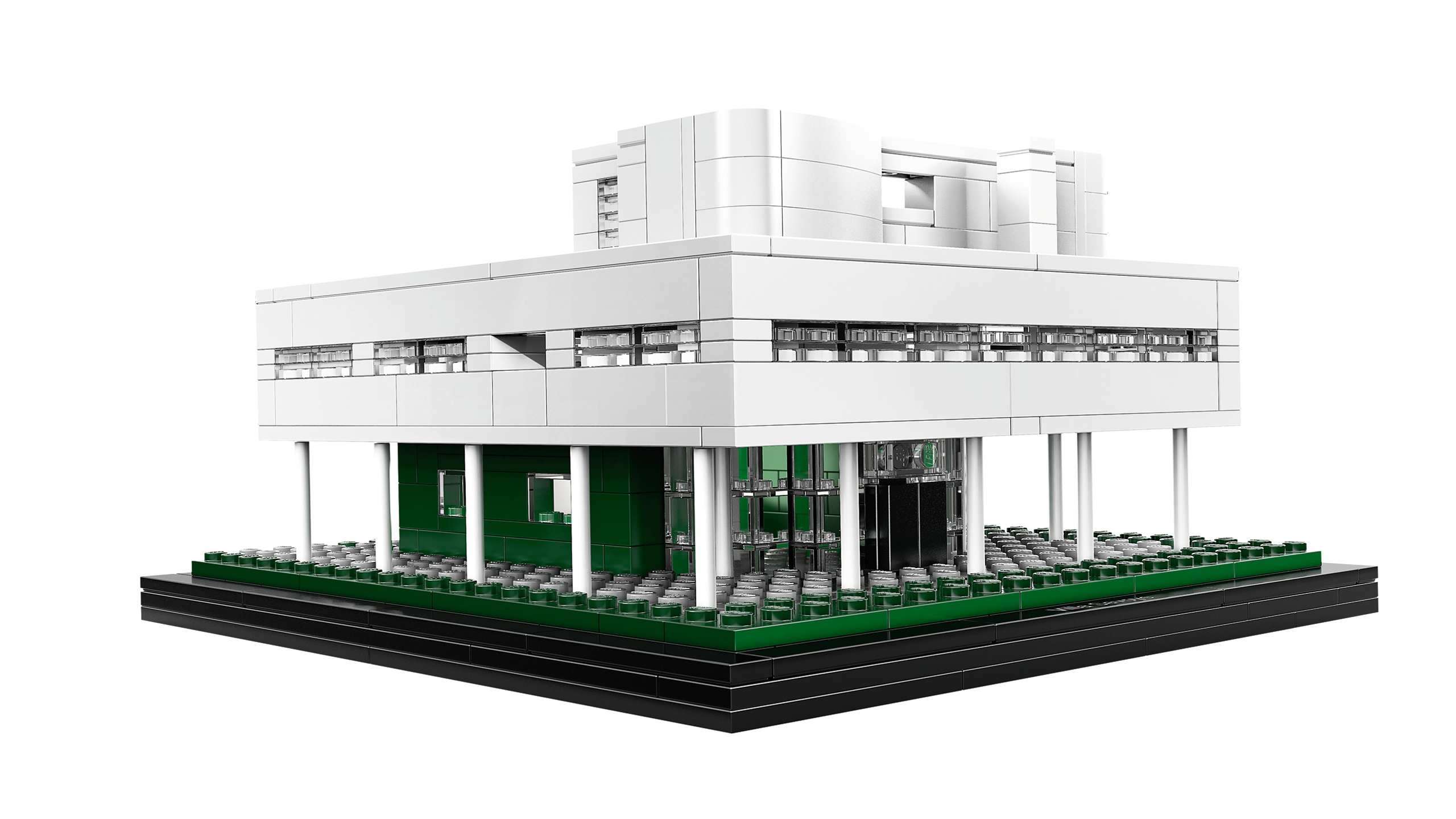Villa Savoye by Le Corbusier architect - LEGO