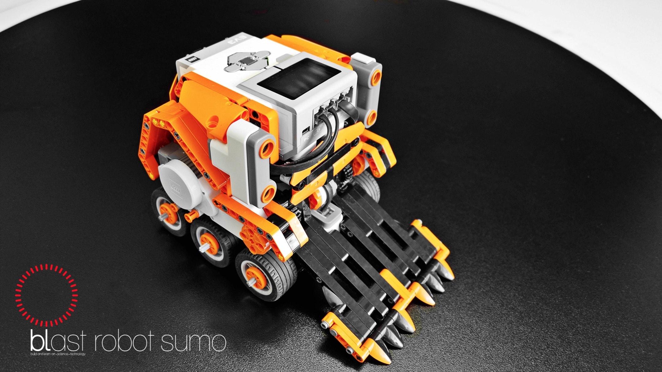 blast robot sumo II