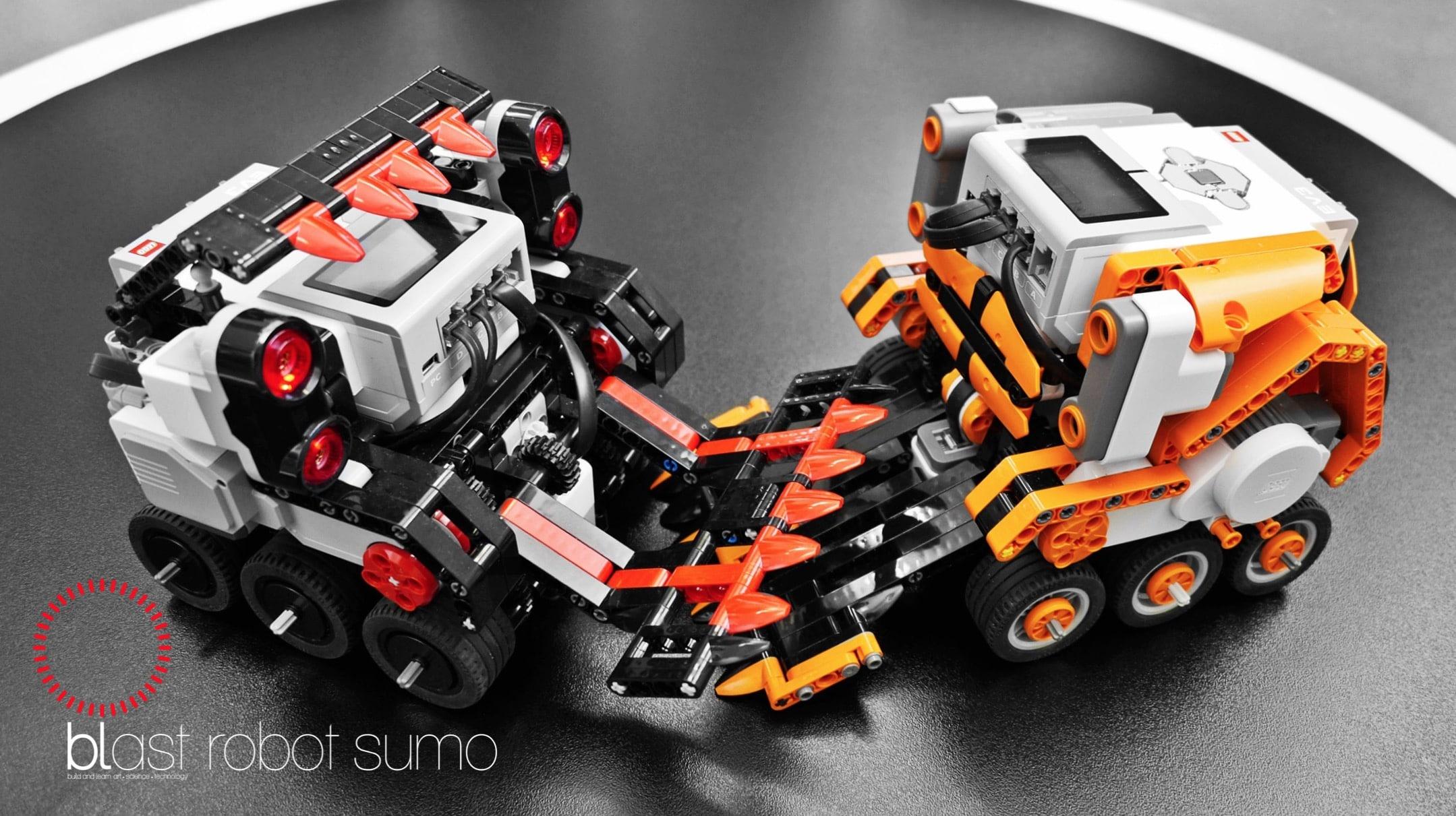 blast robot sumo III