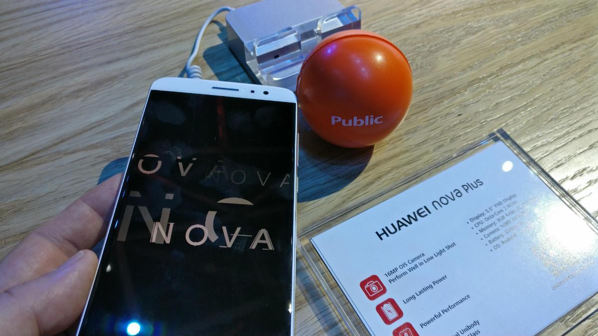 public - huawei nova