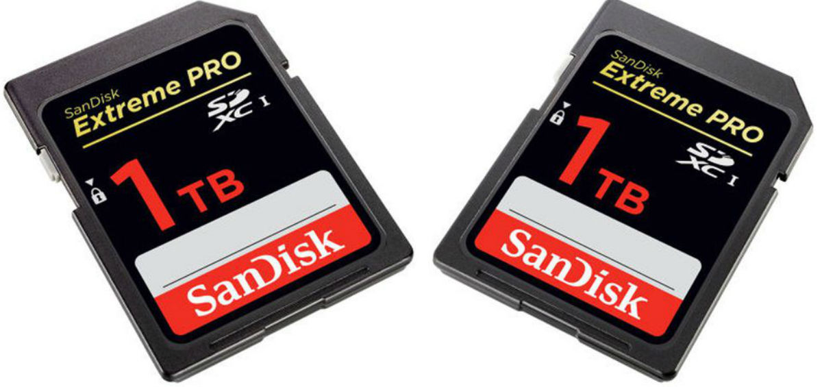 SanDisk: έρχεται η πρώτη SD κάρτα 1ΤΒ!