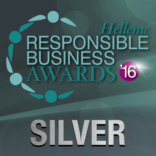 responsible awards stickers SILVER
