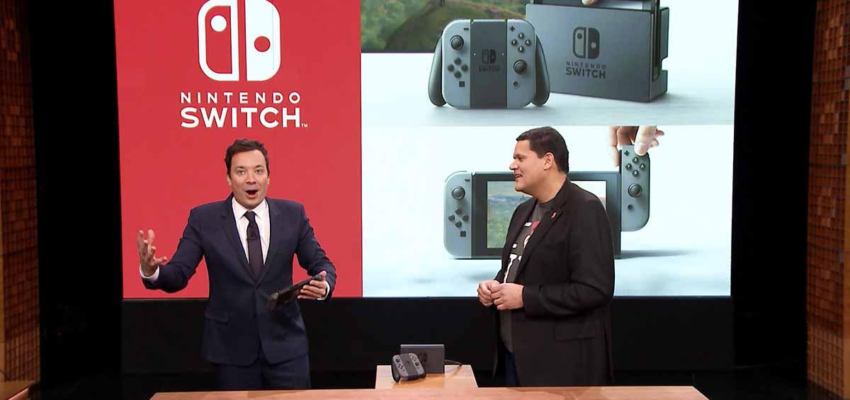 Παρουσιάστηκε στην εκπομπή του Jimmy Fallon το Nintendo Switch!