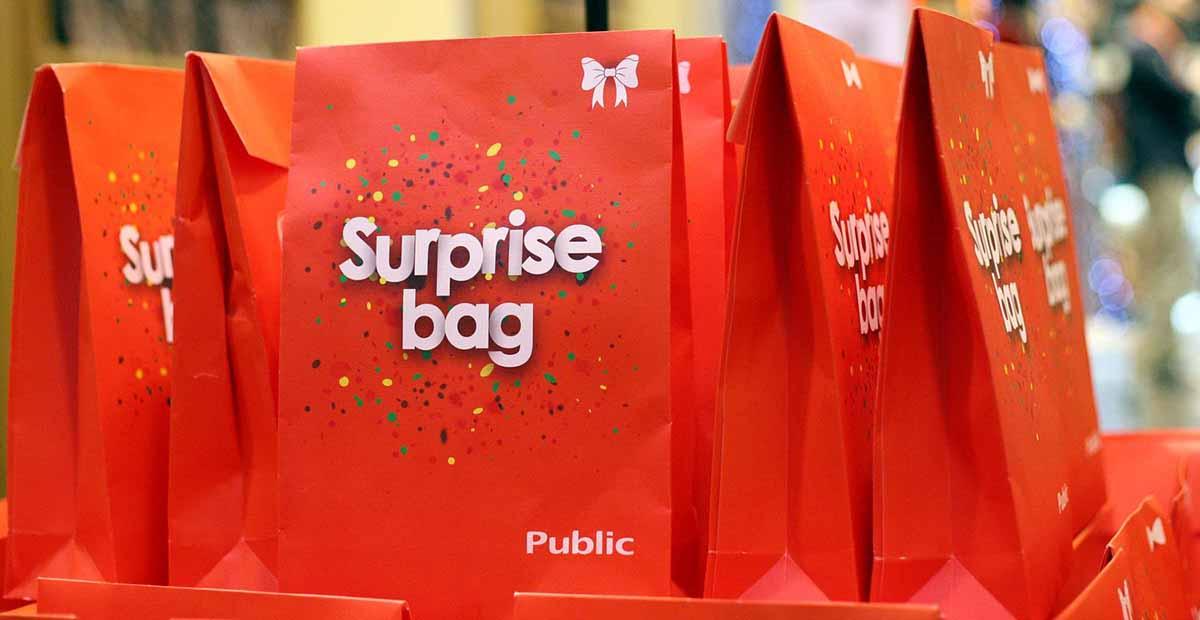 Surprise Bag: Μοναδική πρόταση δώρου από τα Public