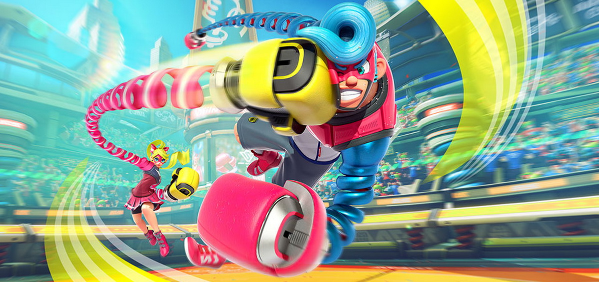 ARMS: Boxing game για το Nintendo Switch