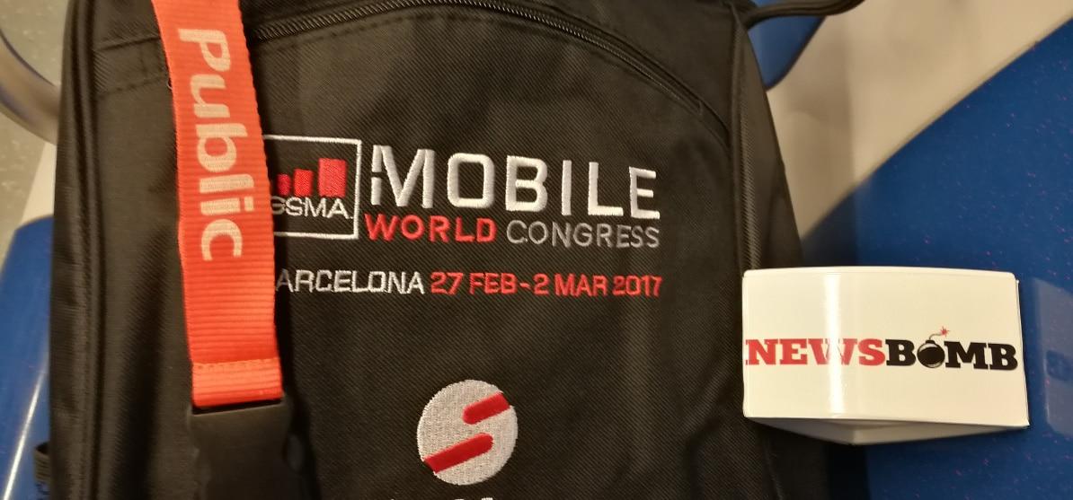 Τα Public στη Βαρκελώνη για το MWC 2017