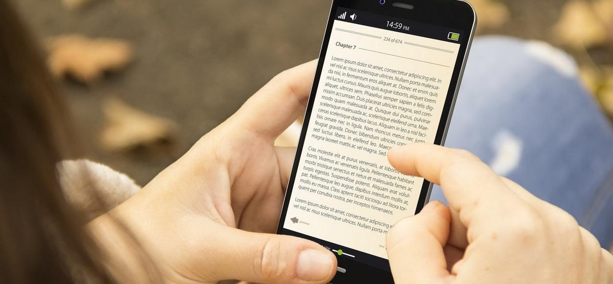 Πως να κάνεις το smartphone σου e-reader