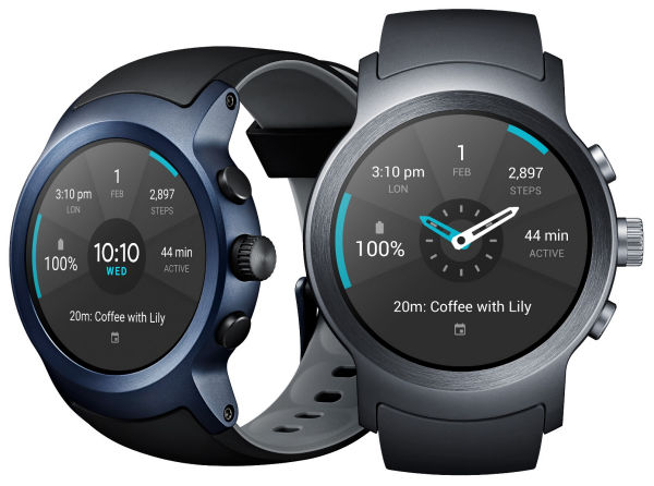 Τα πρώτα smartwatches με Android Wear 2.0