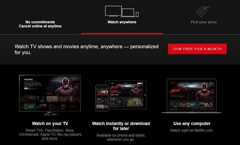 Netflix: δες ταινίες και σειρές σε κάθε συσκευή