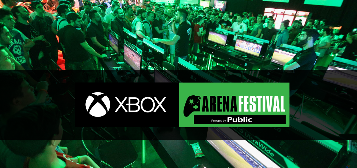 Xbox Arena Festival powered by Public: Δείτε τους τυχερούς gamers!