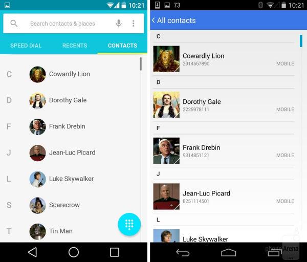Μεταφέροντας τις επαφές μου σε νέο κινητό: Contacts Backup στο Android