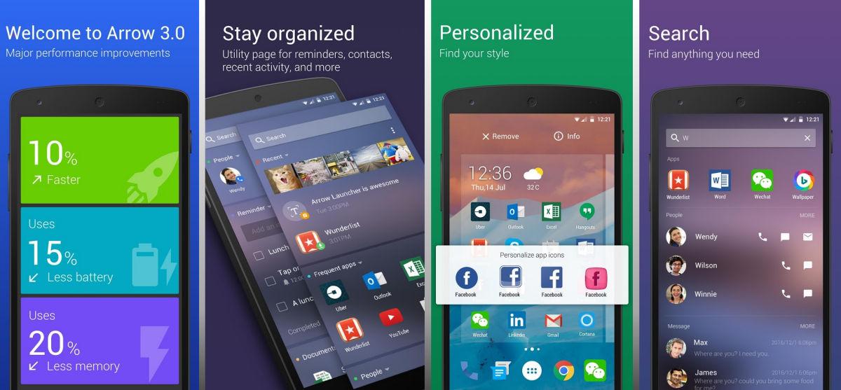 Arrow Launcher: άλλαξε τσιπάκι στο Android!