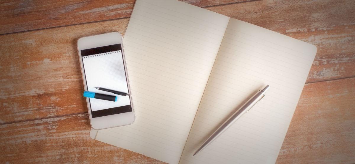 Σημειώσεις στο smartphone: τα καλύτερα note apps!