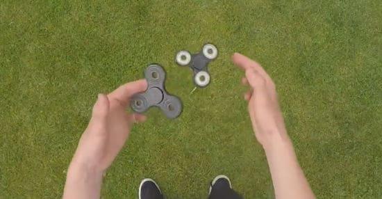Fidget Spinners: Άλλα κόλπα για αρχάριους και expert spinners!