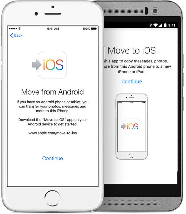 Move to iOS: η εύκολη διαδρομή από το Android στο iPhone!
