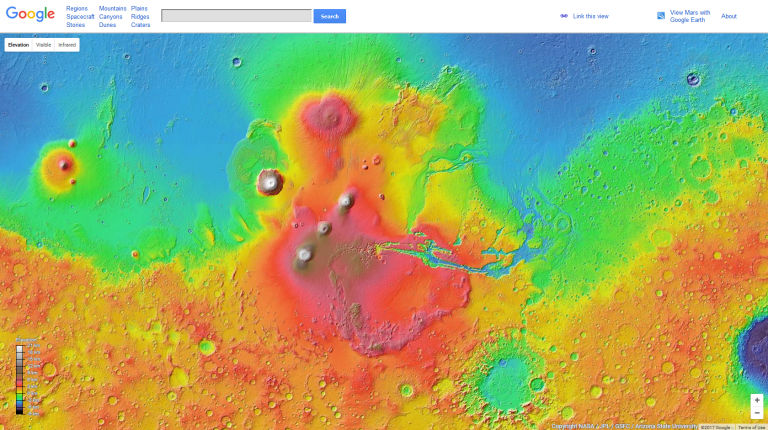 Google Sky / Moon / Mars : Βρες το δρόμο σου και στο διάστημα!