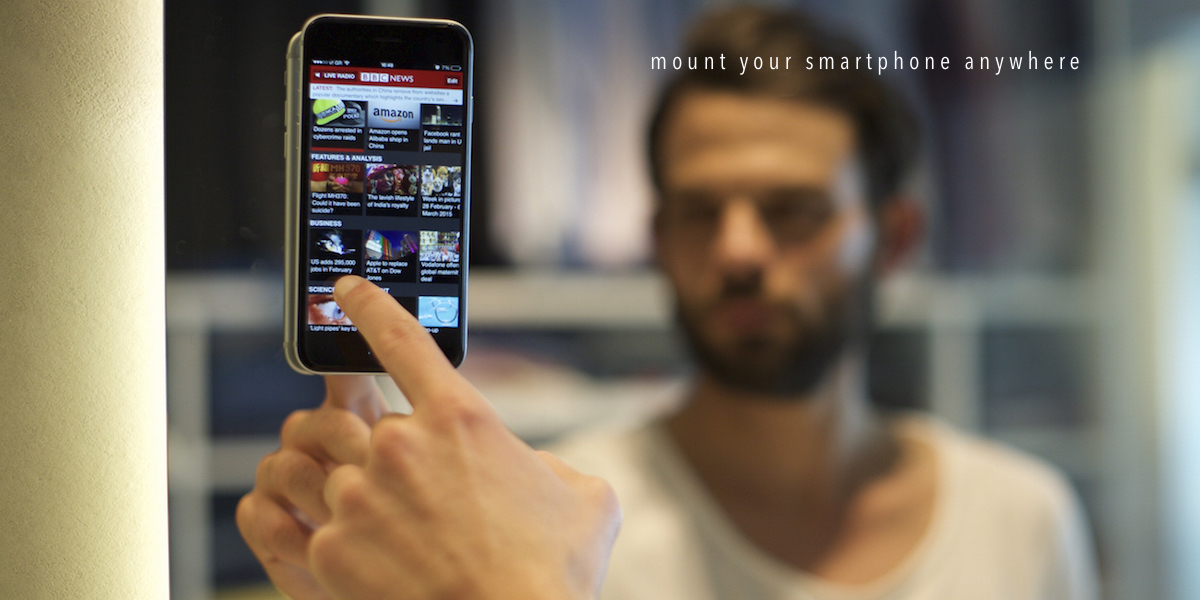 Stikey: H ολοκληρωμένη λύση στήριξης για Smartphones