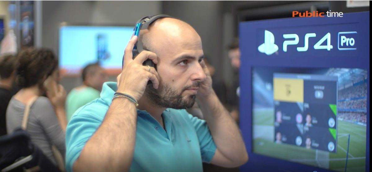 O Παύλος Παπαπαύλου δοκιμάζει το Astro A50 headset