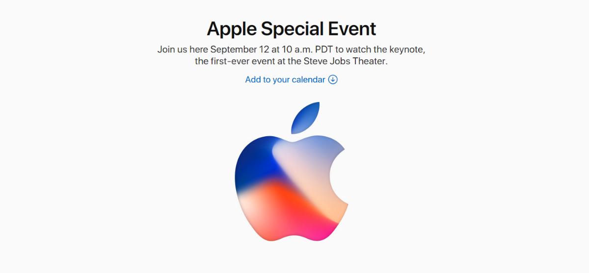 Δείτε live την παρουσίαση του νέου iPhone 8