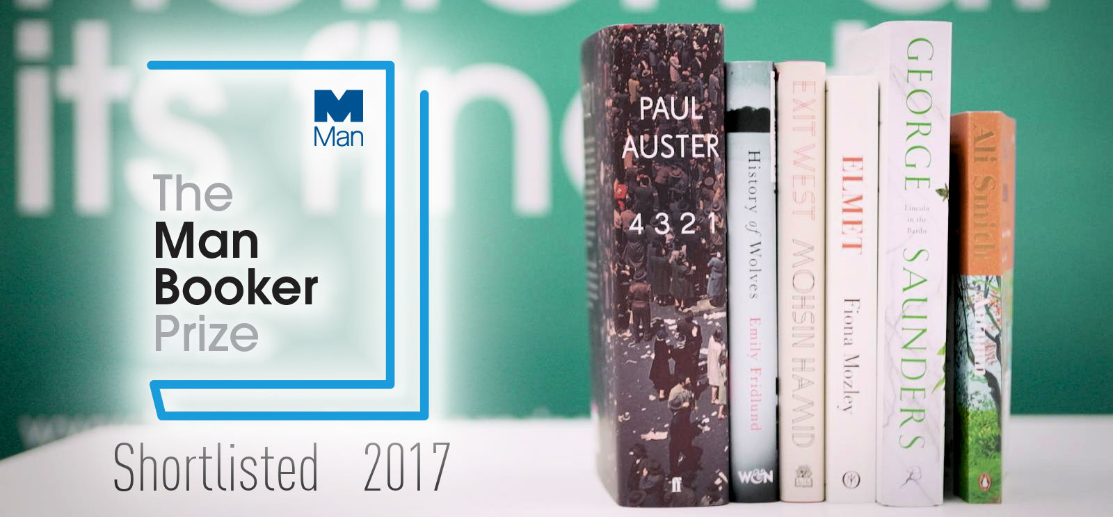 The Man Booker Prize 2017: Ανακοινώθηκε η shortlist!
