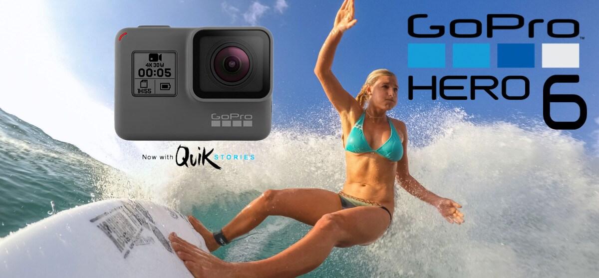 GoPro Hero 6: Ζήσε τις δικές σου ιστορίες!