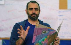 Ο Αντώνης Παπαθεοδούλου διαβάζει το βιβλίο του @ Public Συντάγματος