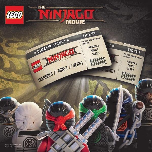 Κερδίστε 20 διπλές προσκλήσεις για το LEGO Ninjago Movie