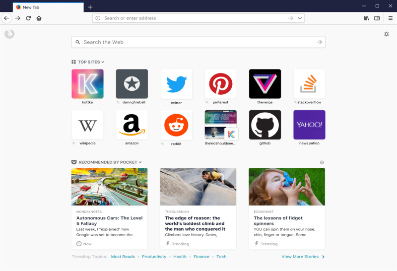 Firefox Quantum: τώρα έχεις λόγο ν αφήσεις τον Chrome!