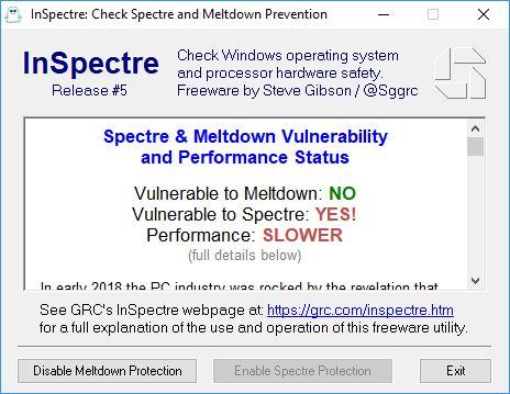 Έλεγξε αν το PC σου είναι ευπαθές στα Meltdown & Spectre exploits με μία κίνηση