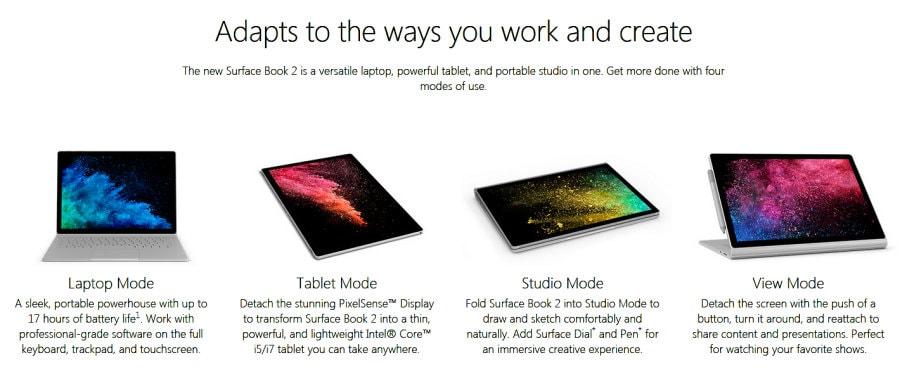Έφτασε το διαστημικό Surface Book 2 από τη Microsoft
