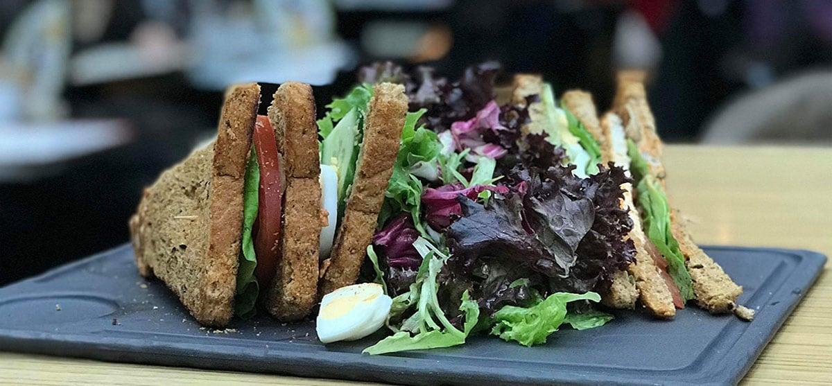 Πως να φτιάξετε club sandwich με χαμηλό γλυκαιμικό δείκτη!