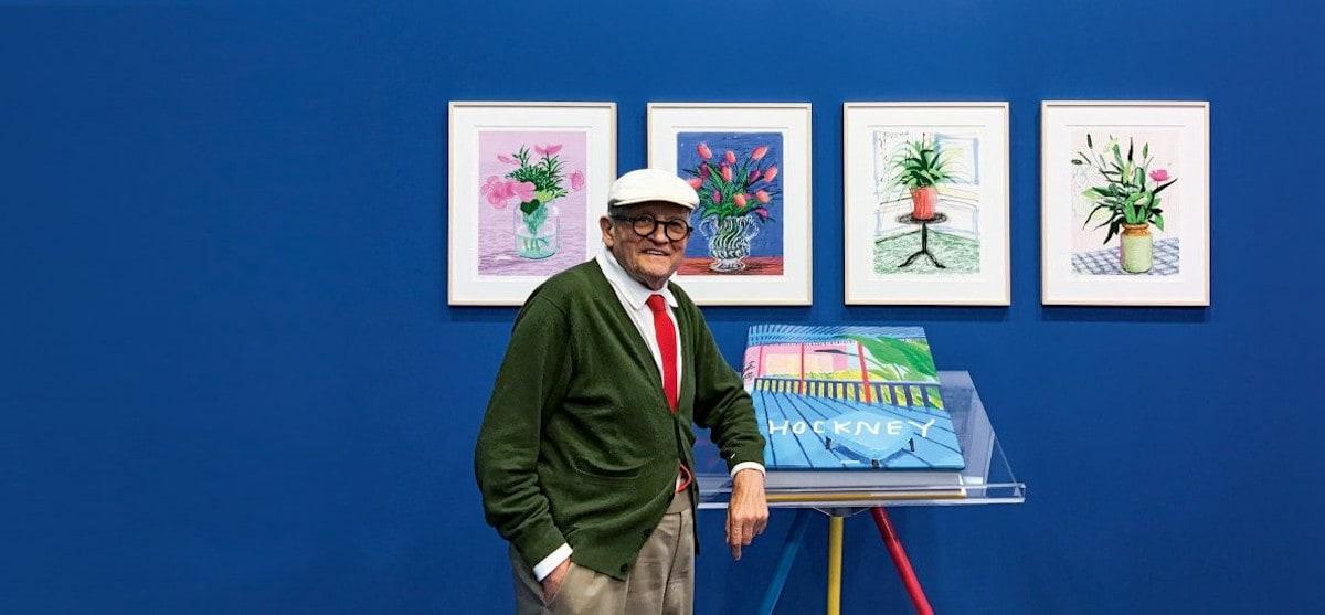 David Hockney: Ένα μεγαλειώδες λεύκωμα 35 κιλών από τις εκδόσεις Taschen