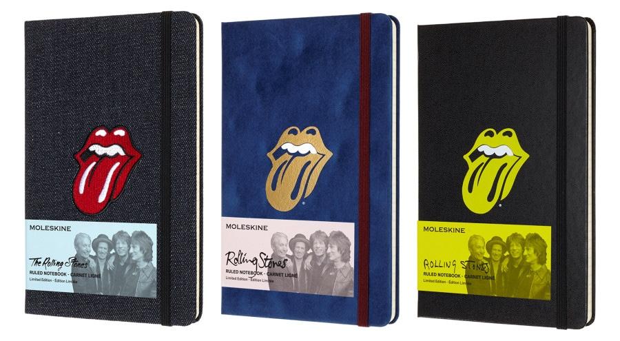 The Rolling Stones Moleskine Special Edition: Για σημειώσεις που ροκάρουν!