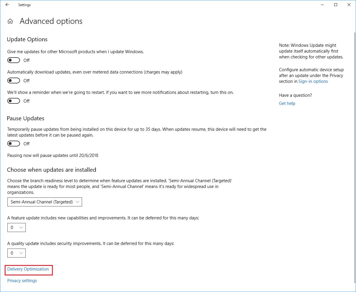 """Ρύθμισε πόσο bandwidth θα """"τρώει"""" η αναβάθμιση των Windows 10!"""