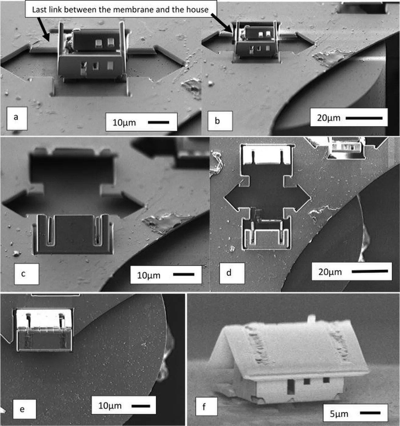 Νανοτεχνολογία και ρομποτική χτίζουν το μικρότερο σπίτι στον κόσμο!