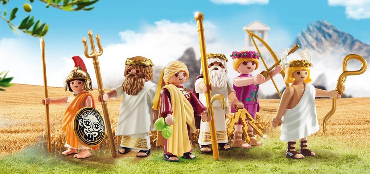 Τα Playmobil έγιναν θεοί και σκαρφάλωσαν στον Όλυμπο!