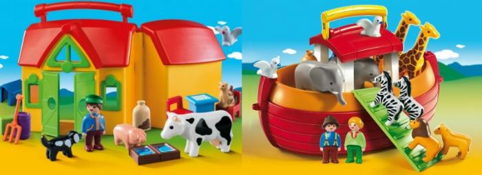 Έλα να παίξουμε: Unboxing με τη φάρμα-βαλιτσάκι και την κιβωτό των Playmobil!