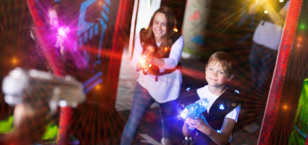 Nerf Laser Ops: η μάχη ξεκινά – Κερδίστε οκτώ εκτοξευτές!