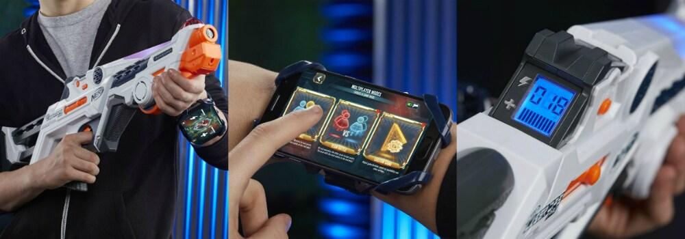 Nerf Laser Ops: η μάχη ξεκινά - Κερδίστε οκτώ εκτοξευτές!