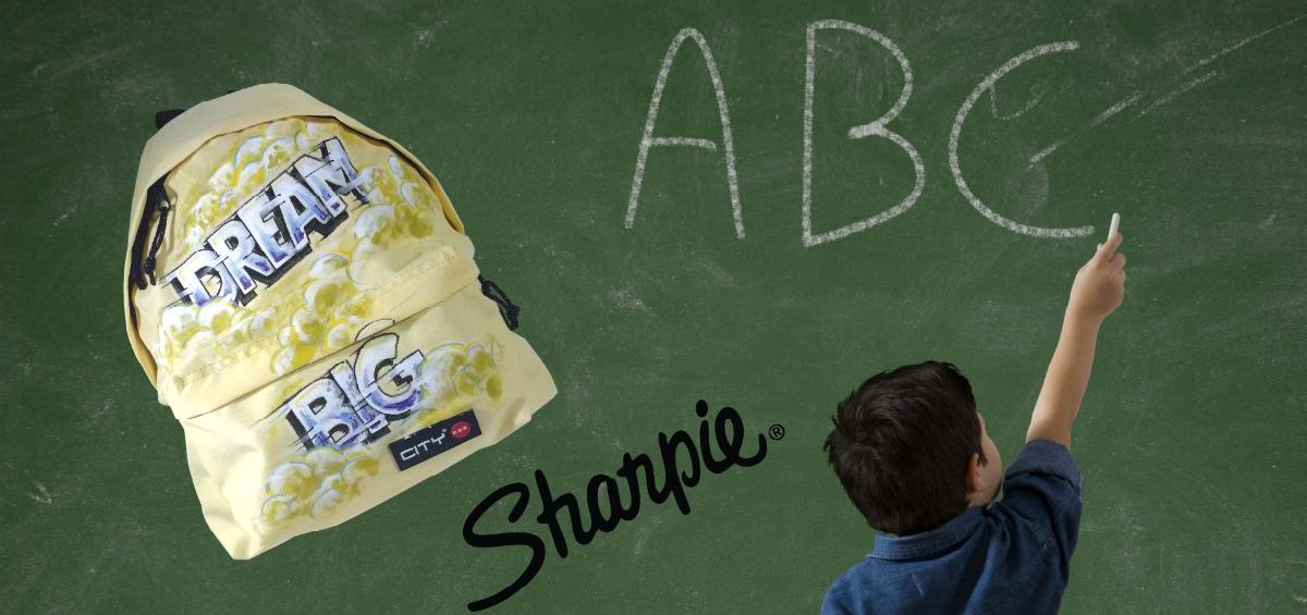 Σχολικές τσάντες City σχεδιασμένες με μαρκαδόρους Sharpie – Κερδίστε πέντε σακίδια!