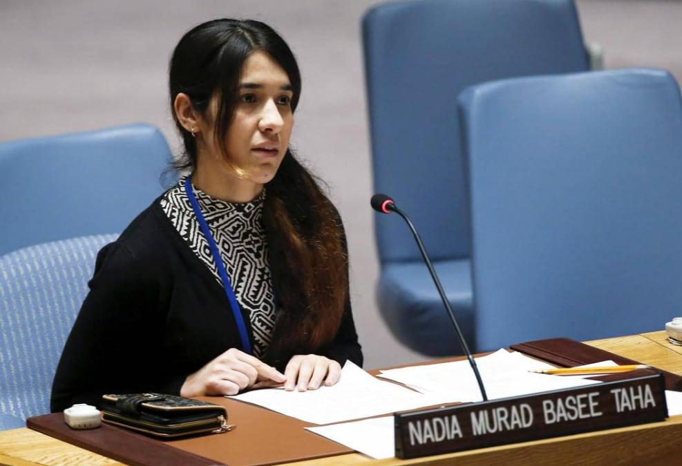 Νάντια Μουράντ: από σκλάβα του ISIS στο Νόμπελ Ειρήνης