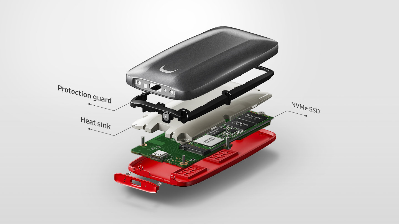Samsung Portable SSD X5: ιδού ο ταχύτερος εξωτερικός δίσκος!