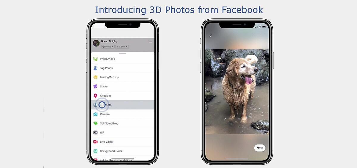 Μάθε πώς θα ανεβάσεις 3D φωτογραφίες στο Facebook