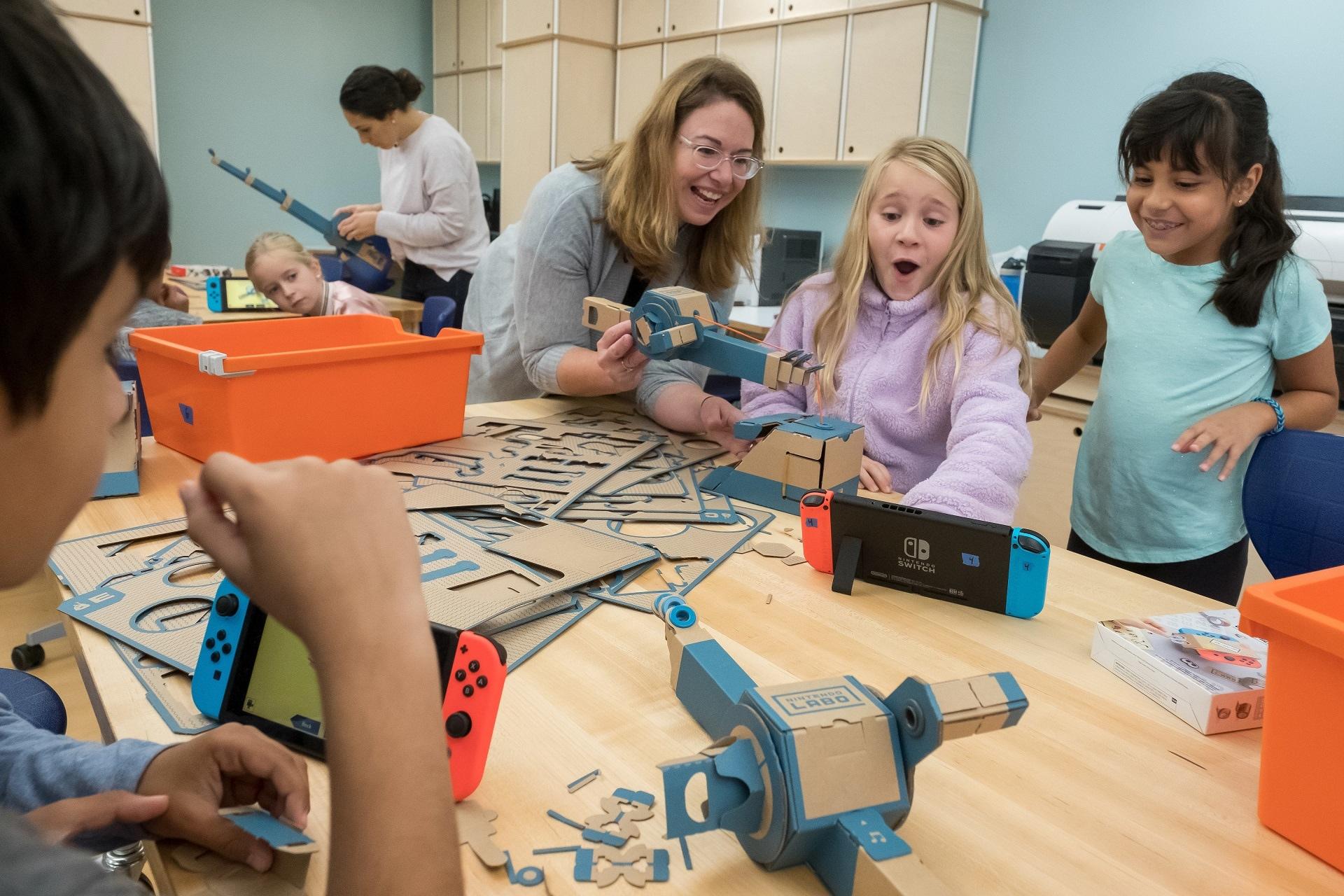ΗΠΑ: Τα Labo της Nintendo μπαίνουν πιλοτικά στα δημοτικά σχολεία