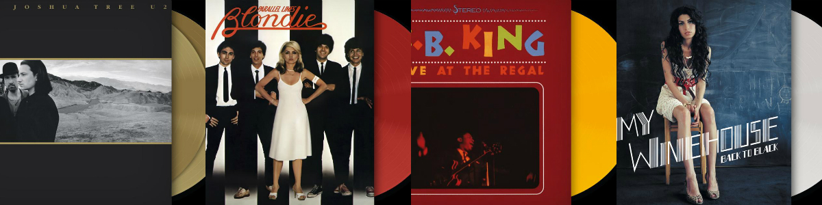 Coloured Vinyl: Oι αγαπημένοι σου δίσκοι παίρνουν χρώμα στο Public