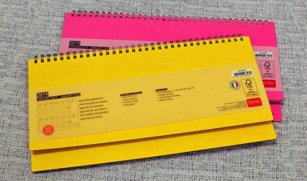Ημερολόγια Legami: Διπλό δώρο για οργανωμένη χρονιά