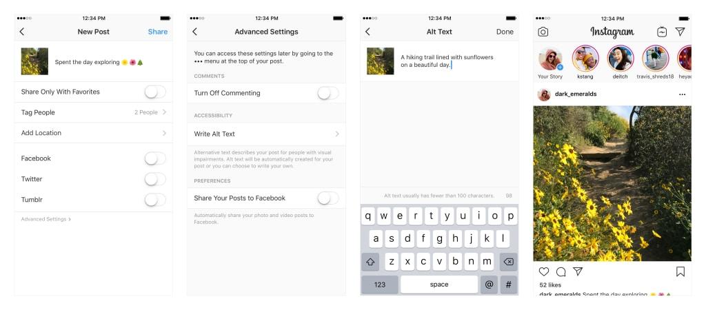 Tο Instagram ετοιμάζει βελτιώσεις για ανθρώπους με δυσκολίες όρασης