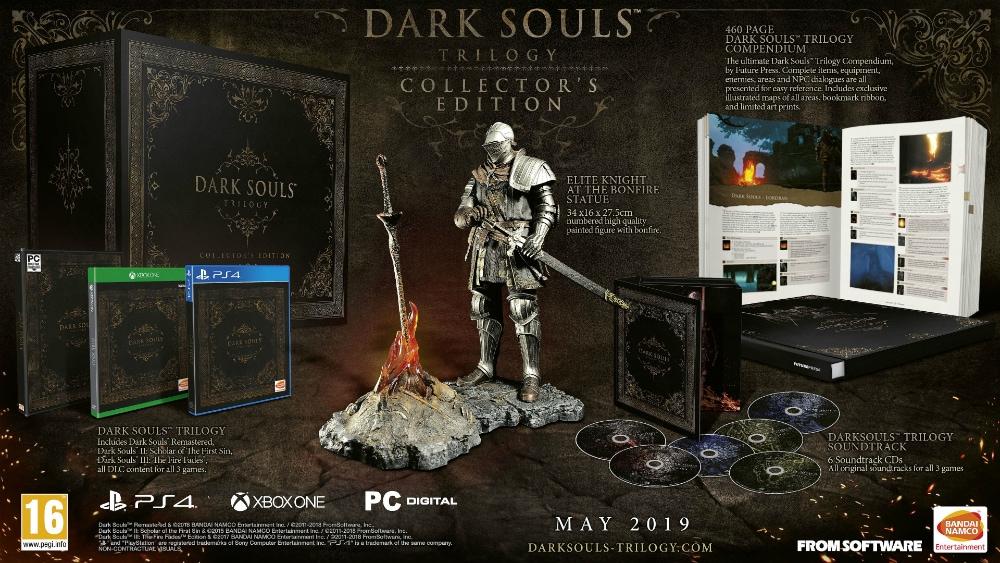Αποκαλύφθηκε η απίστευτη συλλεκτική έκδοση του Dark Souls Trilogy