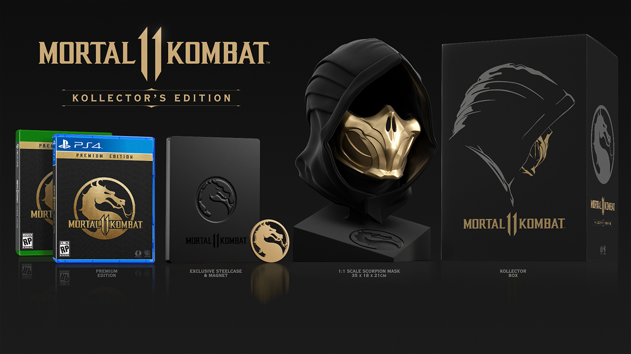 Mortal Kombat 11: gameplay trailer & συλλεκτική έκδοση
