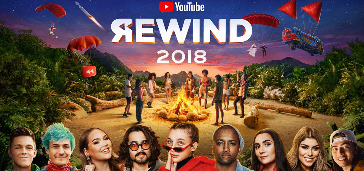 Rewind 2018: Το βίντεο με τα περισσότερα dislikes στο YouTube